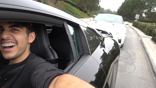 DRIVING THE AUDI R8 & NISSAN GTR TOGETHER