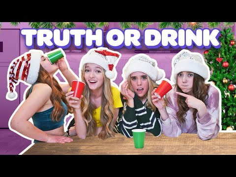 TRUTH OR DRINK ft SQUAD GIRLS exposing ourselves & the past