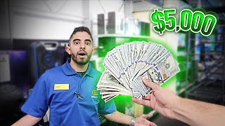 Offering Workers $5,000 TO QUIT THEIR JOB ON THE SPOT!!
