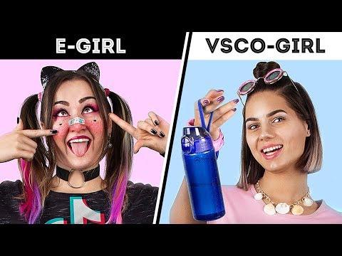 VSCO Girl And E Girl Transforming Into TikTok Girls