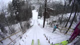 SKI JUMPING   GoPro Harrachov HD   Radek Rýdl jr.