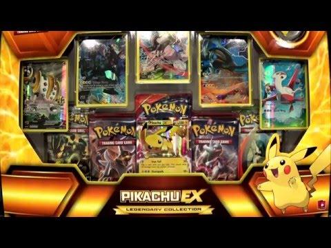 Unboxing! Pokémon Pikachu EX Legendary Collection