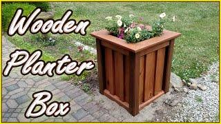 DIY PLANTER BOX | Treated Wood