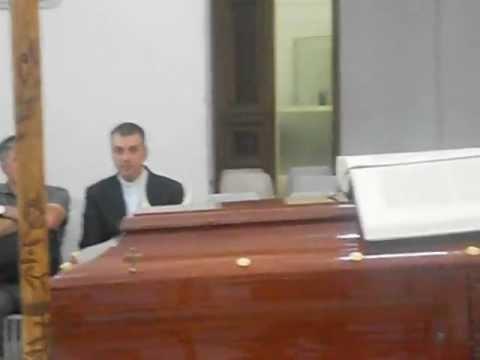 Diocesi di Capua: Cav. De Lisa,le esequie di Mons. Bruno Schettino ( 23-09-2012 ).