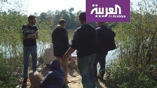 فيديو: مهاجرون عائدون من أوروبا يحاولون عبور النهر إلى تركيا