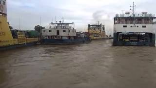 Padma River And Paturia Doulodia Ferry Ghat Bangladesh |New River View