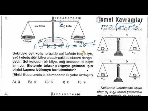 ÖABT YKS TYT Madde ve Özellikleri Palme  Soru Bankası -A Test- 9