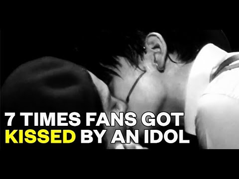 7 Times Fans Got Kissed by an Idol