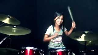 Meru Meru Thailand Song - Drum Cover by Nur Amira Syahira