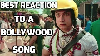 Best Reaction To A Bollywood Song (Funny 2015 Video)