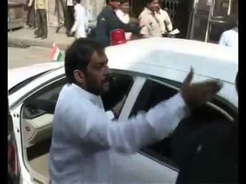 Haryana Lokhit Party ke kand by shree kanda ji ki gundagardi