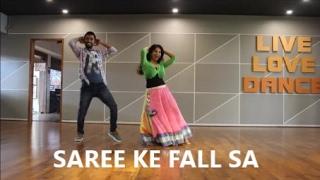 SAREE KE FALL SA# EASY WEDDING COUPLE DANCE# BOLLYWOOD# SHADI # RITU'S DANCE STUDIO SURAT.