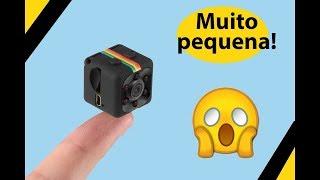 Mini Câmera Full HD com melhor custo benefício! SQ11 PT-BR