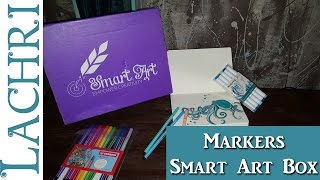 Drawing an Octopus w/ Markers - Smart Art Box March 2017  - Lachri