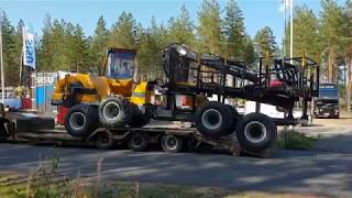 First video of Sampo FR68 Forwarder Swivel Cab