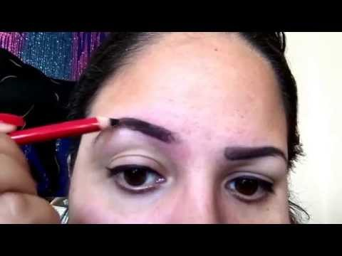 How to do your eyebrows using an eyeliner/eyebrow pencil