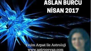 ASLAN Burcu Nisan 2017 Astroloji