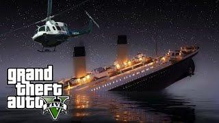 TRAGEDI TITANIC DI GTA V! (Ngakak Momen)