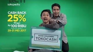 Iklan Tokopedia - Promo Ramadhan Tokocash, Vincent & Desta 30sec (2017)