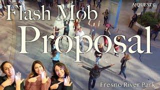 Surprise Wedding Proposal Flash Mob at River Park (Fresno, CA)