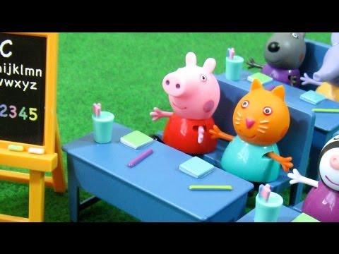 Xxx Mp4 Peppa Pig Classroom Playset Bandai Juguetes De Peppa Pig 3gp Sex