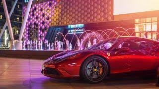Driving My Ferrari INSIDE Dubai Mall!