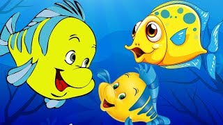 The Three Fishes - Panchatantra Stories For Kids - English Animated Bedtime Stories with Morals