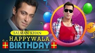 Salman Birthday Mix - Happy Birthday Salman Khan - Dabangg Bhai of Bollywood!!!