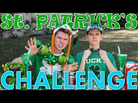 The St. Patrick s Day CHALLENGE FAIL Sibling Tag 2016 Collins Key