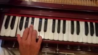 Harmonium Lesson: Radhe Radhe