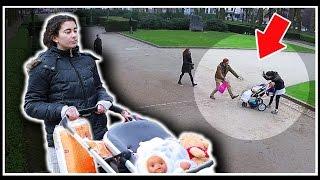 Expérience Sociale #31: Frapper son bébé en public !