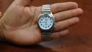 Talking Atomic Watch - Setting Time & Time Zone