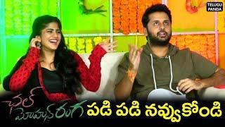 Chal Mohana Ranga Movie Team Interview | Nithiin | Megha Akash | Pawan Kalyan | Telugu Panda