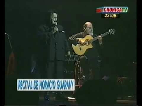 Horacio Guarany Me piden que la olvide