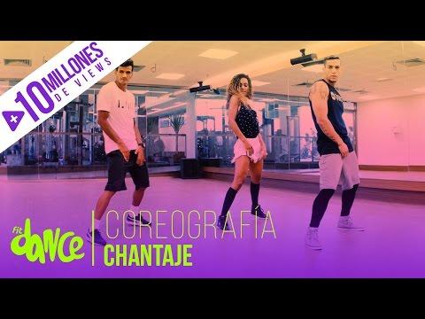 Chantaje Shakira ft. Maluma Coreografía FitDance Life