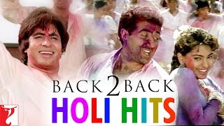 #Back2Back Holi Hits - Holi 2018 Special | होली सॉंग