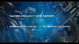 Special Feature: SAFIRE PROJECT 2018 REPORT