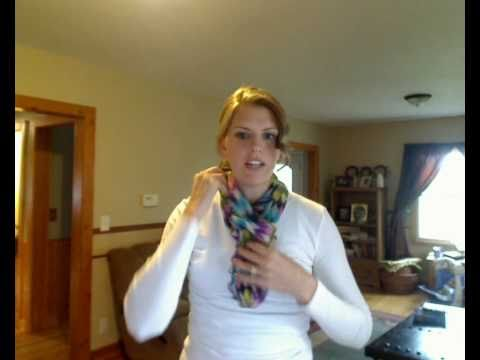 Quick Scarf Tying:Seven ways to tie an Infinity Scarf