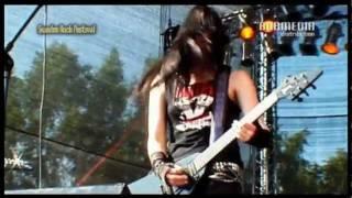 Crucified Barbara - Bad Hangover (Live Sweden Rock)