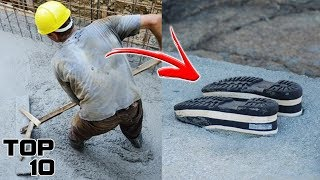 Top 10 Weirdest Things Found Stuck In Concrete