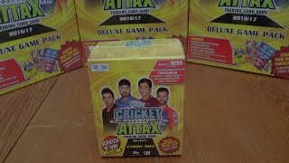 COMPLETE CARRY BOX OPENING! | 260 CARDS! | Topps CRICKET ATTAX IPL 2016-17 Trading Cards