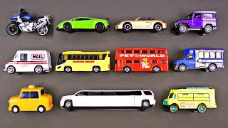 #1 Best Toddler Learning Street Vehicles for Kids Hot Wheels Matchbox Tayo Cars Trucks for Children