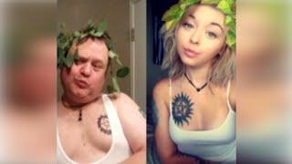 Dad Recreates Daughter's 'Sexy' Selfies