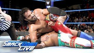 Xavier Woods vs. Jinder Mahal - U.S. Title Tournament Semifinal: SmackDown LIVE, Jan. 16, 2018