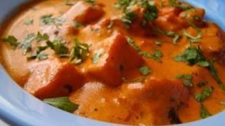 Paneer Makhani or Makhanwala or Paneer Butter Masala (Indian cheese in creamy sauce)