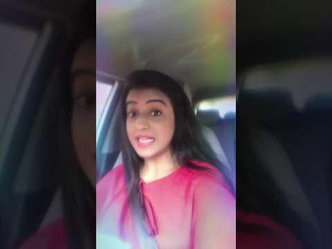 Beautiful akshara singh enjoying in car