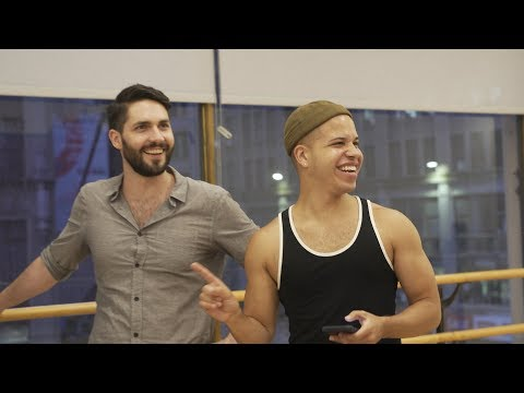 Behind the scenes with members of the New York City Gay Men's Chorus,