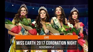 LIVE: Miss Earth 2017 coronation night