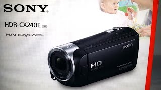 Sony HDR CX240 Camcorder Full HD