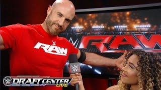 Cesaro vents about Raw management: July 19, 2016